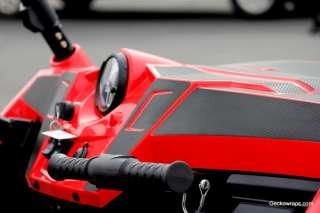 GECKOWRAPS POLARIS RZR S 4 TEXTURED DECAL FULL KIT + DASH KIT CARBON