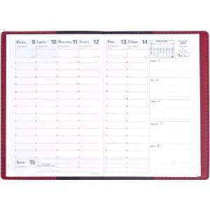 Quo Vadis, Business 2012, Agenda Planning Diary, 4 x 5 7