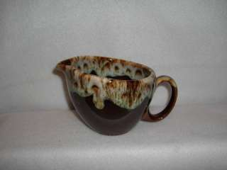 BROWN DRIP U.S.A CANONSBURG CREAMER~HULL,McCOY WANNA BE