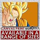 Goku High Quality Framed Canvas Canvas Framed Working Template