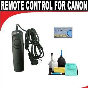 Remote Shutter Release For The Canon T1i, XSI, XS, XTI, XS