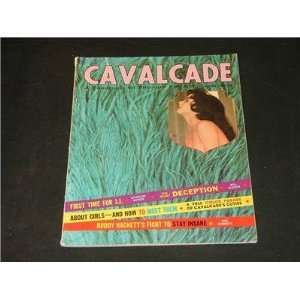 Cavalcade, vintage Adult mens magazine, August 1962: Cavalcade