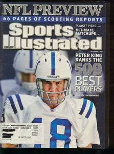 2007 Sports Illustrated Peyton Manning Colt NFL Preview