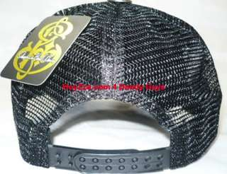 Brand New Maria Trucker Hat With Rhinestones Cap ADJ
