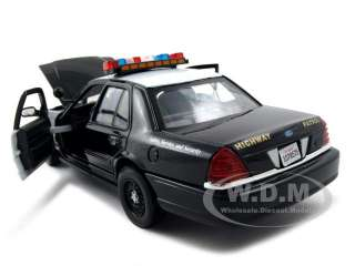 model of 2007 ford crown victoria highway patrol car die cast model