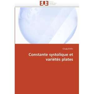 plates (French Edition) (9786131553929) Chady El Mir Books
