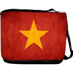 Rikki KnightTM Vietnam Flag Messenger Bag   Book Bag