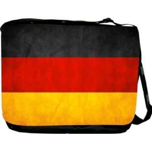 Rikki KnightTM Germany Flag Messenger Bag   Book Bag