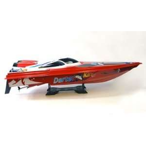 King High Performance Electric Racing Speed Boat Red Version Toys