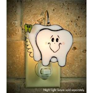 Switchables Stained Glass Teeth Night Light Cover Home Improvement