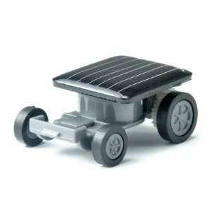 Mini Solar Powered Racing Car Toy  Black Toys & Games