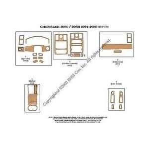 Chrysler 300C Dash Trim Kit 04 05   28 pieces   Green Carbon Fiber