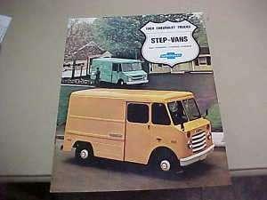 1968 Chevrolet Truck Step Vans Sales Brochure