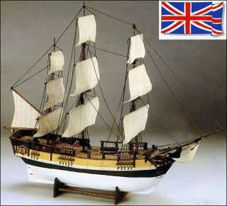 Aeropiccola HMS BOUNTY wood ship model kit New rare