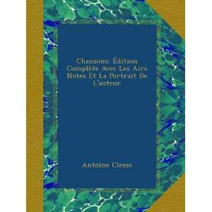 Et La Portrait De Laut (French Edition): Antoine Clesse: Books