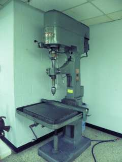 EDLUND No. 2F 15 Single Spindle Drill Press   30 Swing, 1 Capacity