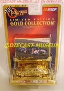 PEPSI 24K GOLD COLLECTION DIECAST WINNERS CIRCLE VERY RARE
