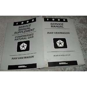 1999 Dodge Ram Van Wagon Service Repair Shop Manual Set
