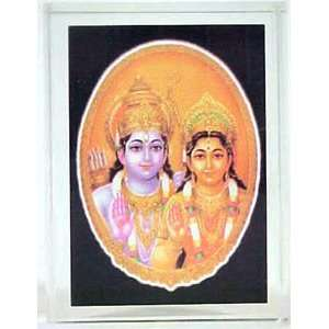 WITH PICTURE OF INDIAN GOD RAM & GODESS SITA: Office Products