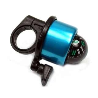 1X MTB Bike Bicycle Compass Bell Ring Handlebar black