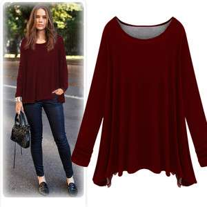 New Fashion Womens Ladies Girls Long Sleeve T Shirt/Top Casual Style