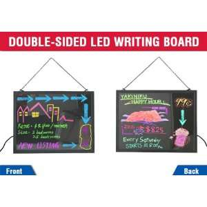 Two Side LED Writing Board Sign Lighted Display Signs