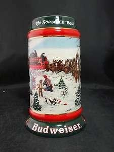 Budweiser Clydesdale Horses Christmas Stein S Sampson
