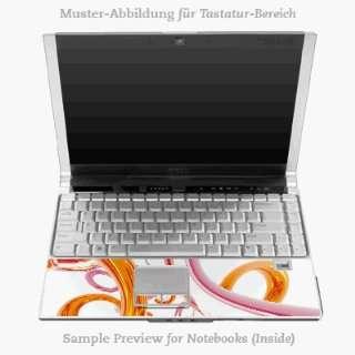 Design Skins for Apple MacBook Pro 17 Tastatur