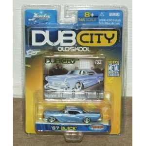 Dub City Oldskool 1957 Buick 164 Scale Die Cast Metal Car