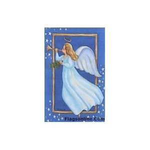 Toland Heavenly Angel Art Flag: Patio, Lawn & Garden
