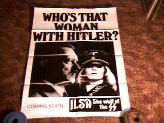 ILSA SHE WOLF ADV MOVIE POSTER RECALL 74 DYANNE THORNE