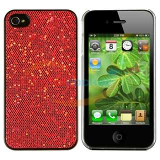 5x Bling Diamond Hard Back Case Skin Cover Sparkly Glitter for iPhone