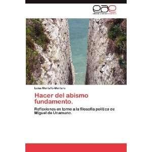 Unamuno. (Spanish Edition) (9783659004346): Luisa Montaño Montero