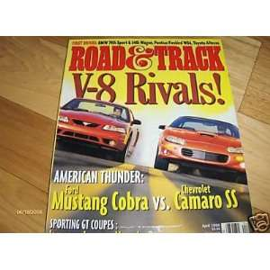 ROAD TEST 1999 Ford Mustang SVT Cobra Road And Track