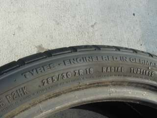 18 CONTINENTAL SPORT CONTACT 2 285/30/18 TIRE