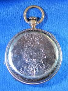 1877 ELGIN National Watch Co. THE CHIEF Jeweled GOLD Filled Pocket
