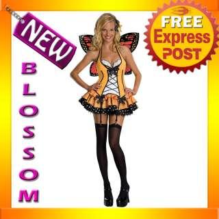 Butterfly Queen Fairy Adult Fancy Dress Halloween Costume