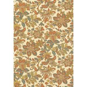 Corsini Paisley Linen by F Schumacher Wallpaper: Home Improvement