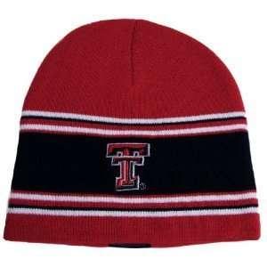 Texas Tech Red Raiders School Spirit Knitted Winter Beanie Cap Hat