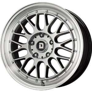 Drag D45 Hyper Black Wheel (17x7.5/5x120mm) Automotive
