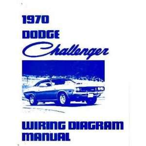 1970 DODGE CHALLENGER Wiring Diagrams Schematics: Everything Else