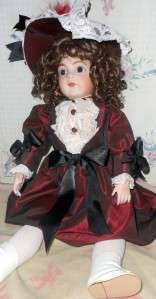 Beautiful Antique Bru Artist Repro Doll Stunning Nicely Detailed by