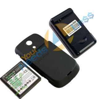 NEW 3500mAh extended battery Samsung Galaxy S Epic 4G D700 + Back