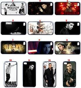 Drake Drizzy iPhone 4 4s Hard Case Black