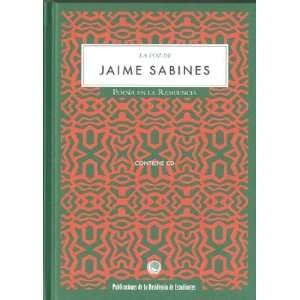 La voz de Jaime Sabines (9788495078742): Jaime Sabines: Books
