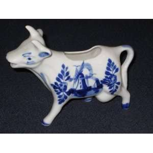 Vintage Small Hand Painted Delft Holland Porcelain Blue