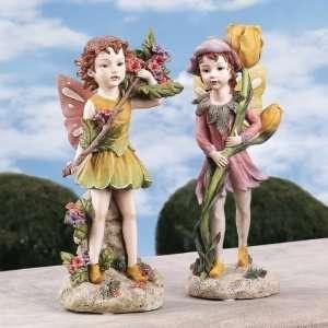 Xoticbrands Classic Garden Pixie Fairies Gift Collectible