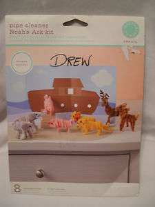 Stewart Noahs Ark Kit pipe cleaner animals elephant pig lion deer