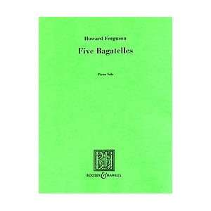 5 Bagatelles for Piano Composer Gerald Finzi