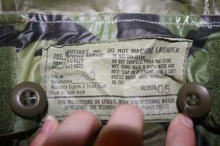 US Army Military Issued Orc Industries Improved Rainsuit Parka Medium